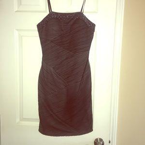 Strapless Mid-Length Dress
